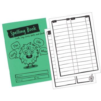 Primary Spelling Book, Pack of 30