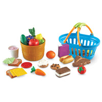 Role Play, Basket Set, New Sprouts Deluxe Market Set, Age 18 Mths+, Set