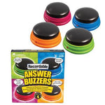 Recordable Answer Buzzers, Set of 4