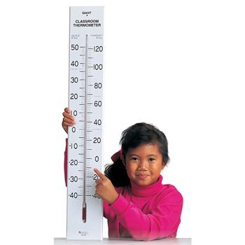 Giant Classroom Thermometer, Each