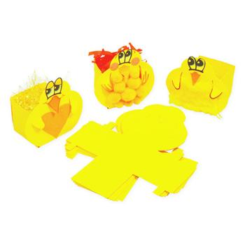 Easter Chick Boxes, Pack of 30