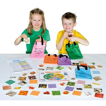 Games, Nutrition, Healthy Eating Shopping Bag, Age 5+, Each