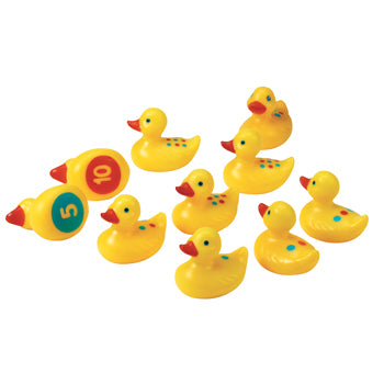 Sand & Water Play, Number Fun Ducks, Age 2+, Set of 10