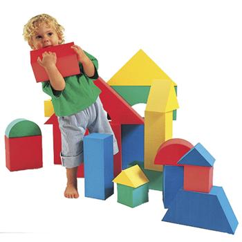 Construction, Giant Foam Blocks