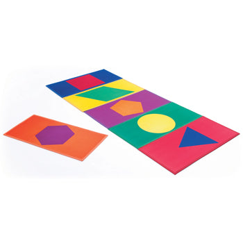 Soft Play, Mats, Colour Shape, Set of 6