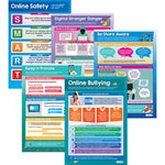 Digital Safety Poster Set (Primary), Set of 5