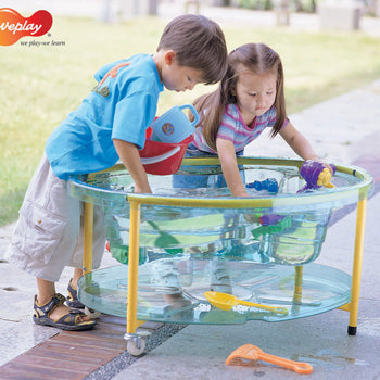 Sand and Water Play, Clear View Oval, Tray and Stand, Age 3+, Each