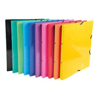 Elasticated Enclosure Ring Binders, A4, 2 RING ('O' Shaped), 20mm Capacity, Assorted Colours, Box of 20