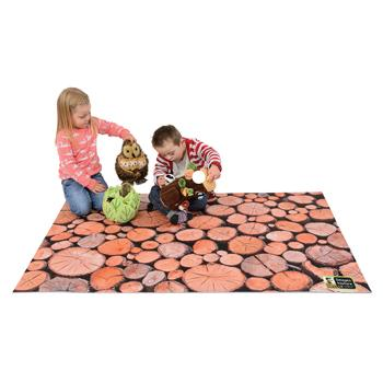 Nature Playmats, Chopped Logs, Each