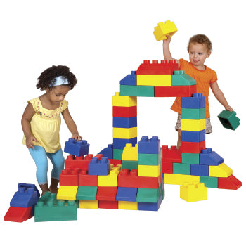 Construction, Edu-Blocks, Age 0+, Set of 50 Pieces