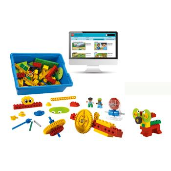 9656 Early Simple Machines, 5 Years+, Tub of 102 Pieces