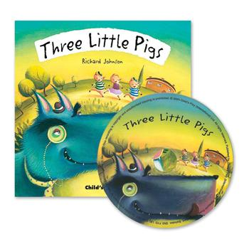 Fairytale Book & CD, Three Little Pigs, Set
