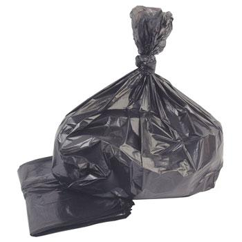 Refuse Sacks, Black, 90 litres, Heavy Duty, Pack of 200