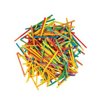 Matchsticks, Assorted Colours, 40mm Long, Pack of 2000
