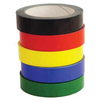 Coloured Tape, Pack of 6