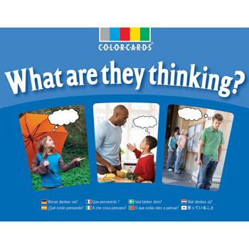 Colorcards, What Are They Thinking?, Age 5+, Set of 30
