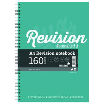 A4 Revision Notebook, Pack of 5