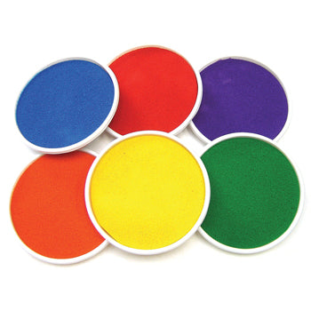 Ink Pads, Brights, Pack of 6