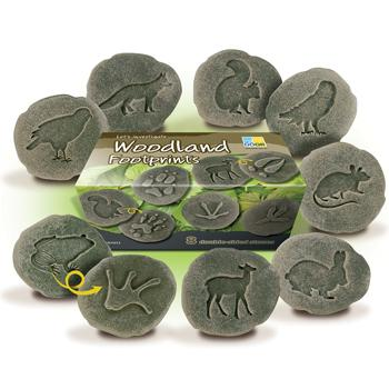 Woodland Footprints, Age 2+, Set of 8