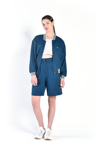 Vicky 80s 2 Piece Wool Sports Ensemble