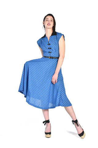 Bonnie Polkadot Day Dress