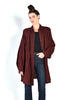 Rayna Woven Cotton Draped Jacket