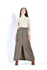Erika 1960s Wool Maxi Skirt