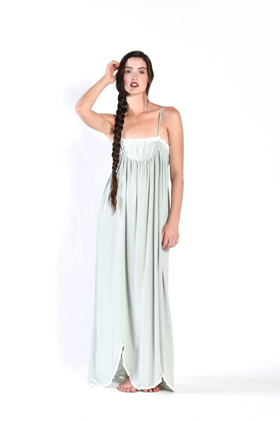 Laura Seafoam Slip Dress