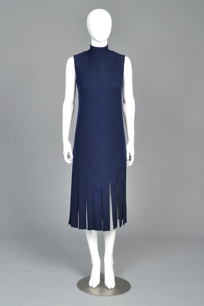 Pierre Cardin 1970 Carwash Dress