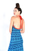 Giorgio Sant'Angelo Backless Knit Maxi Dress
