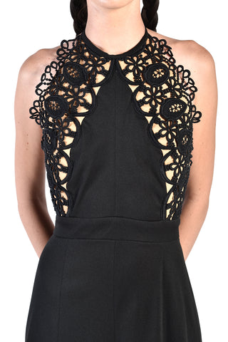 Violette Backless Lace Jumpsuit