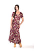 Alice Bias Cut Floral Maxi Dress w/ Flared Hem
