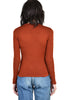 Jackie 1970s 2 Tone Faces Knit Top