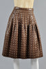 Adolfo 1960s Silk Brocade Jacket + Skirt Ensemble