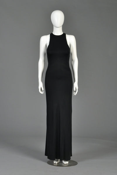 Armani Cutout Strap Back Gown