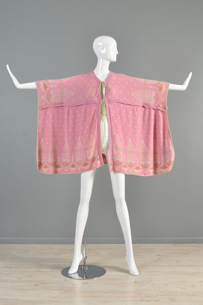 1976 Bill Gibb Knit Cape