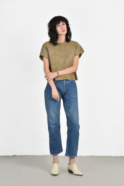 Renae Buttery Soft Suede Top