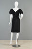 Christian Dior New York Vintage 1960s Tiered Sleeve Cocktail Dress
