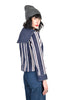 Adia Americana Striped Denim Sailor Jacket