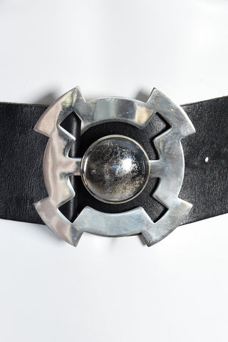 Massive 1960s Givenchy Space Age Belt
