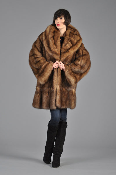 Guy Laroche Barguzine Russian Sable Coat