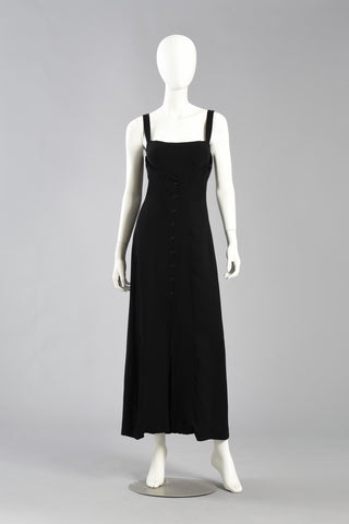 Karl Lagerfeld Evening Dress with Shelf Bust