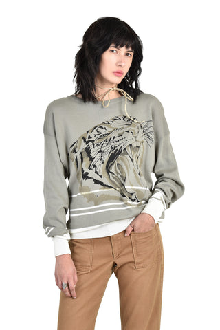 The Roaring Tiger Sweater by Krizia