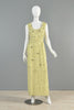 Malcolm Starr 1960s Beaded Gown