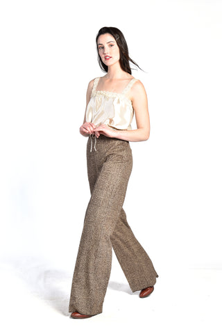 Max Mara Wide Leg Wool Trousers