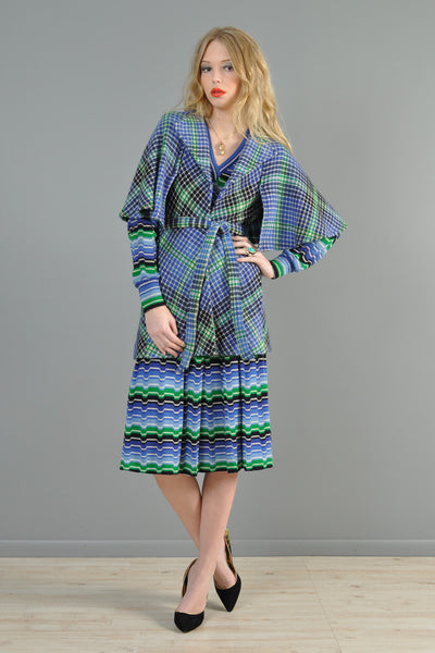 Missoni 1970s 3-Piece Knit Ensemble