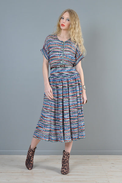 Missoni 1980s 2-Piece Knit Ensemble
