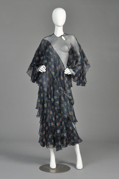 Ossie Clark + Celia Birtwell 1970 Ziggy Stardust Dress