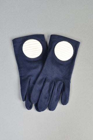 Pierre Cardin Vintage 1960s Mod Circle Gloves