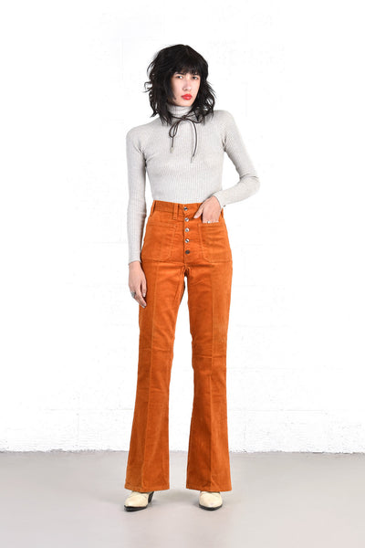 Shannon Brushed Corduroy 70s Bell Bottoms